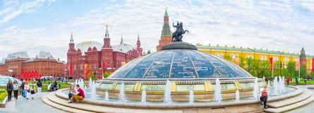 Необыкновенный фонтан Стоковое Фото