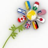 Необыкновенный цветок для интернета Стоковая Фотография RF