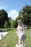 Необыкновенный шаман статуи Стоковые Фото