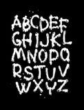 Необыкновенный шрифт Стоковая Фотография