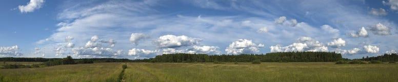 неоглядное поле Стоковое Изображение RF