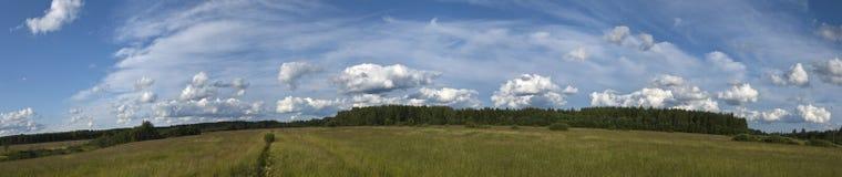 неоглядное поле Стоковые Фотографии RF