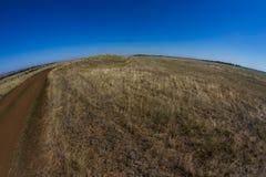 Неоглядные степи Стоковая Фотография RF