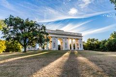 Неоклассическое ` Reistna ` колоннады - Valtice, чехия, Европа Стоковые Изображения