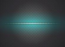 Неоновая металлическая сияющая предпосылка решетки Стоковые Изображения RF