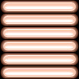 Неоновые света на черной предпосылке Стоковые Фото