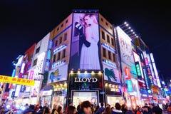 Неоновые света Сеул Стоковые Фото