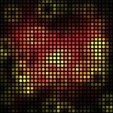 Неоновый абстрактный вектор предпосылки Стоковое фото RF