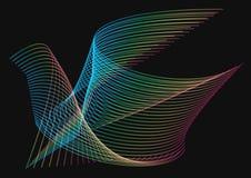 Неоновый конспект птицы Стоковое Изображение