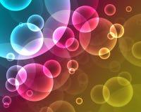 Неоновый конспект background_2 Стоковое Фото