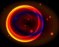 Неоновый круг Стоковые Фотографии RF