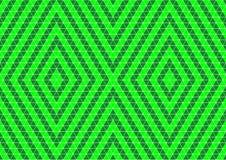 Неоновым покрашенные зеленым цветом геометрические обои предпосылки картины Techno восточные орнаментальные безшовные иллюстрация штока