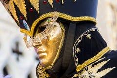 Венецианская маска масленицы Стоковое Фото