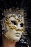 Венецианская маска масленицы Стоковая Фотография