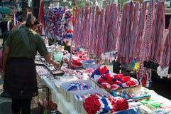 Неопознанные инструменты и/или продавец сувениров для Стоковое Изображение