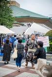 Неопознанный борец sumo Стоковая Фотография RF