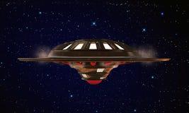 Неопознанный летать объекта Стоковая Фотография RF