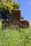 неотмеченное gravestone старое Стоковые Фотографии RF