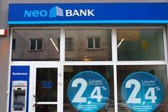 Нео банк, Польша стоковые фото