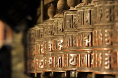 непальские колеса Стоковые Фото