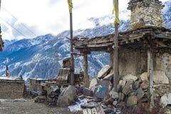 Непал, annapurna, Гималаи, гора, природа, everest, Гималаи, пропуск, trekking, пик, трек, ландшафт, перемещение, ряд, 3, шаг Стоковое Изображение