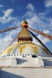 Непал Stupa Bouddanath в Катманду стоковые изображения rf