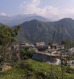 Непал, Гималаи, Ghandruk Стоковые Изображения RF