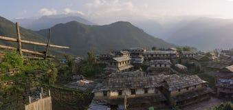 Непал, Гималаи, Ghandruk Стоковое фото RF