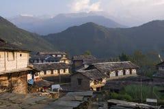 Непал, Гималаи, Ghandruk Стоковые Изображения