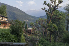 Непал, Гималаи, Ghandruk Стоковое Изображение RF