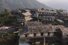 Непал, Гималаи, Ghandruk Стоковая Фотография RF
