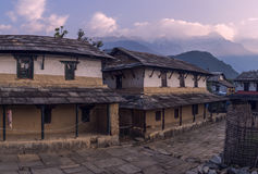 Непал, Гималаи, Ghandruk Стоковые Фото