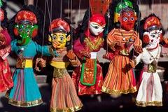 Непальский кукольный театр стоковое изображение rf