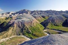 неплодородные почвы Дакота np южная Стоковые Фотографии RF