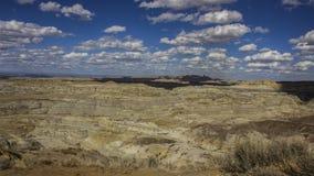 Неплодородные почвы пика Анджела, Неш-Мексико Стоковые Изображения RF