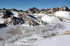 неплодородные почвы Стоковые Изображения RF