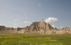 Неплодородные почвы South Dakota Стоковые Фото