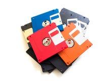 Неповоротливый дискет хранения данных на белизне Стоковые Изображения RF