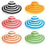 Неповоротливая шляпа пляжа Стоковое Изображение