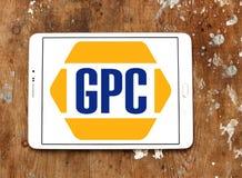 Неподдельн Части Компания, GPC, логотип Стоковое Изображение