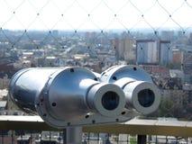 Неподвижный туристский телескоп Стоковые Фото