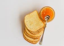 Неподдельные ингридиенты для того чтобы начать здоровый завтрак Стоковое Фото