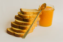Неподдельные ингридиенты для того чтобы начать здоровый завтрак Стоковое Изображение RF