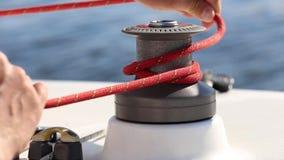 Неправильная польза ворот на яхте видеоматериал