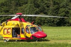 непредвиденное спасение вертолета Стоковая Фотография RF
