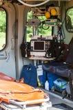 непредвиденное спасение вертолета Стоковая Фотография