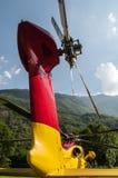 непредвиденное спасение вертолета Стоковые Изображения RF