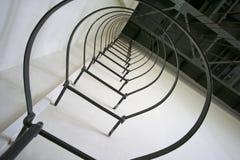 непредвиденные лестницы стоковое изображение