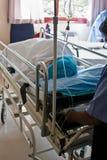 непредвиденный пациент Стоковая Фотография