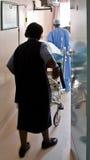 непредвиденный пациент Стоковое фото RF
